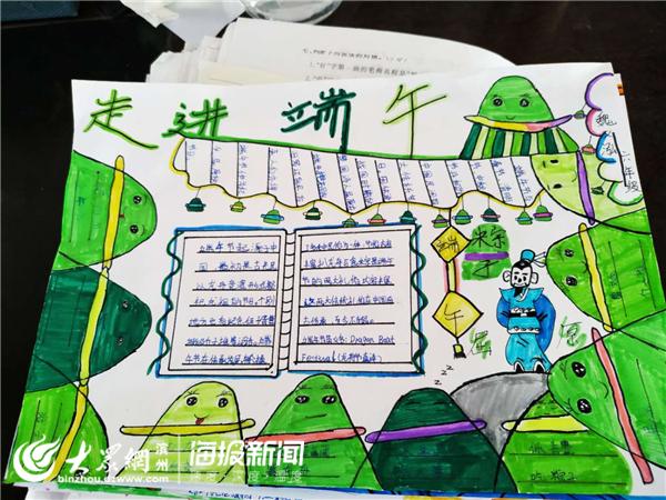 学生绘制的手抄报图片
