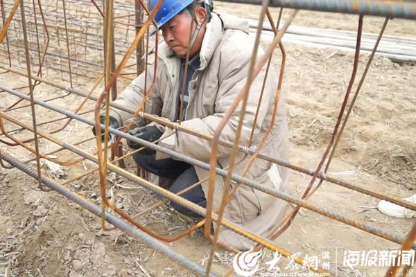 阳信县供电公司:克服低温寒风恶