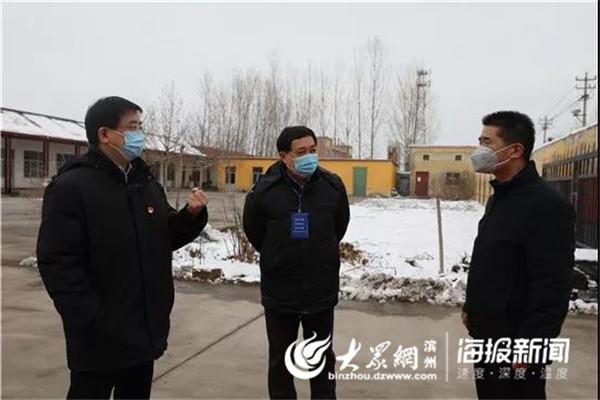 黃山街道黨工委書記王奎督導復工