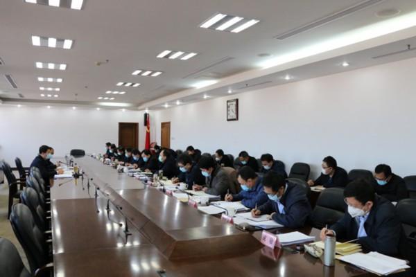 滨州市经济运行督导组会议召开